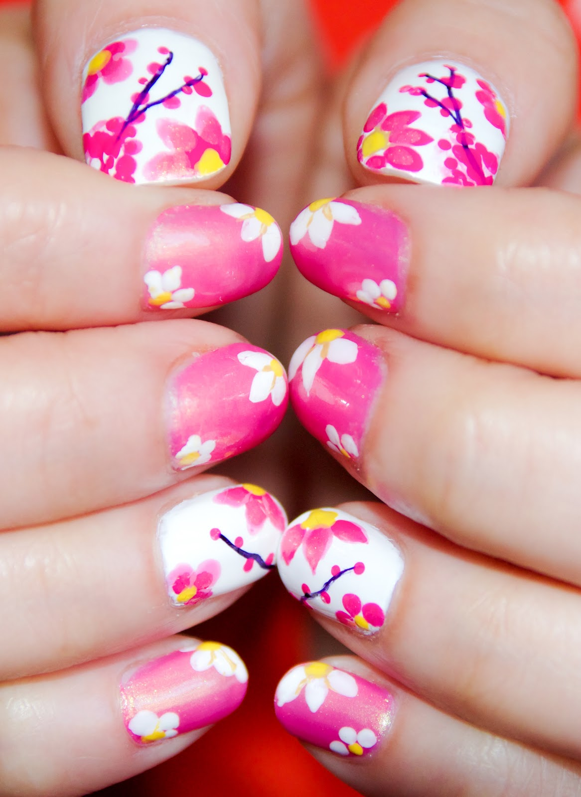 Spring Inspired Nail-art: A Step By Step Tutorial