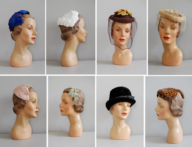 womens vintage hats