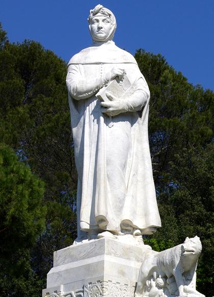 Petrarch statue