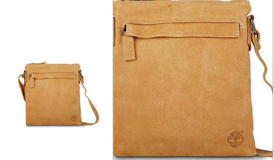bolso de piel para hombre de la marca Timberland