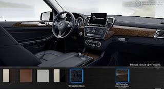 Nội thất Mercedes GLS 350d 4MATIC 2019 màu Đen 211