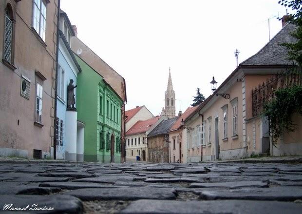 Bratislava, vicolo caratteristico