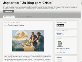 """Jagsartes: """"Un Blog para Cristo"""""""