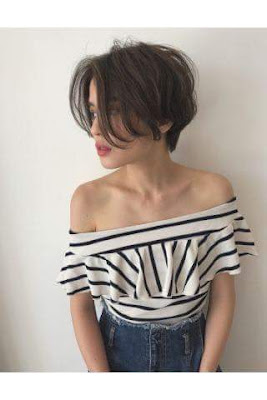 short hairstyle, picture of short hairstyle, hairstyle, pattern of short hairstyle