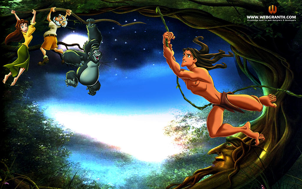 All HD Wallpapers: The Jungle Book - Cartoons Wallpapers