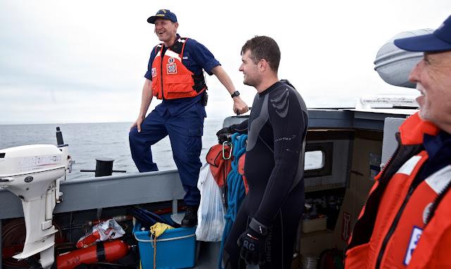Chris Sparkman, Diver, and John Ignozza