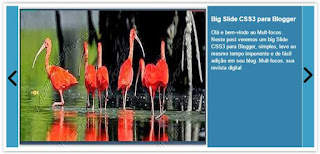 Slide carousel de posts para Blogger