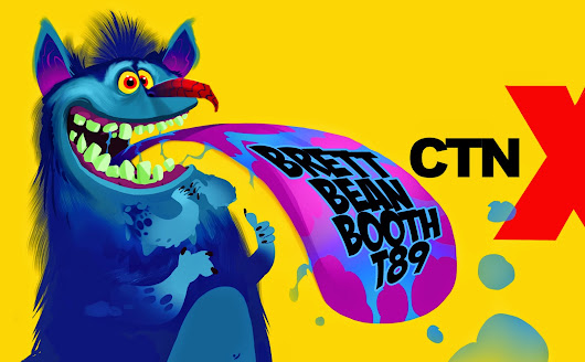 2D Bean artblog- Concept art, visual Development, Doodles, and Illustrations of Brett Bean: CTN this weekend y'all!