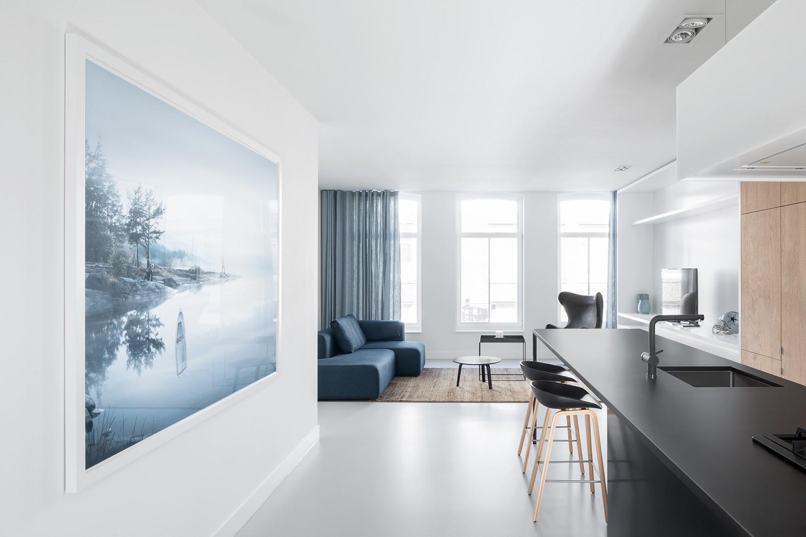 Casa elegante minimalista e accogliente a amsterdam arc - Casa accogliente ...