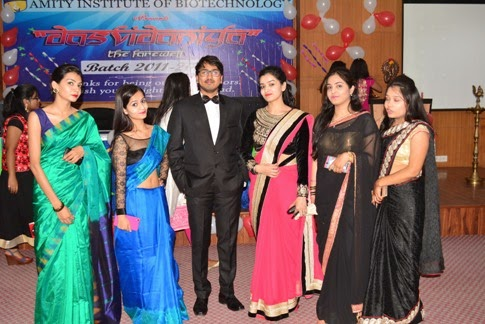 Amity University Gwalior Amity University Gwalior Organises Farewell Function For The Final Year Students Of B Tech Biotechnology
