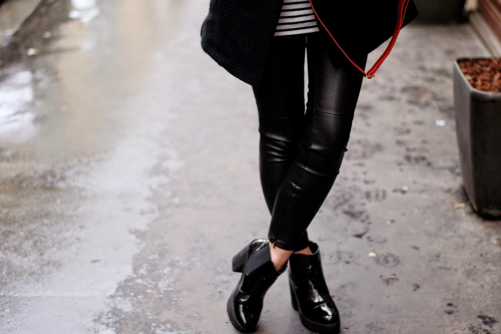 皮革绑腿外观