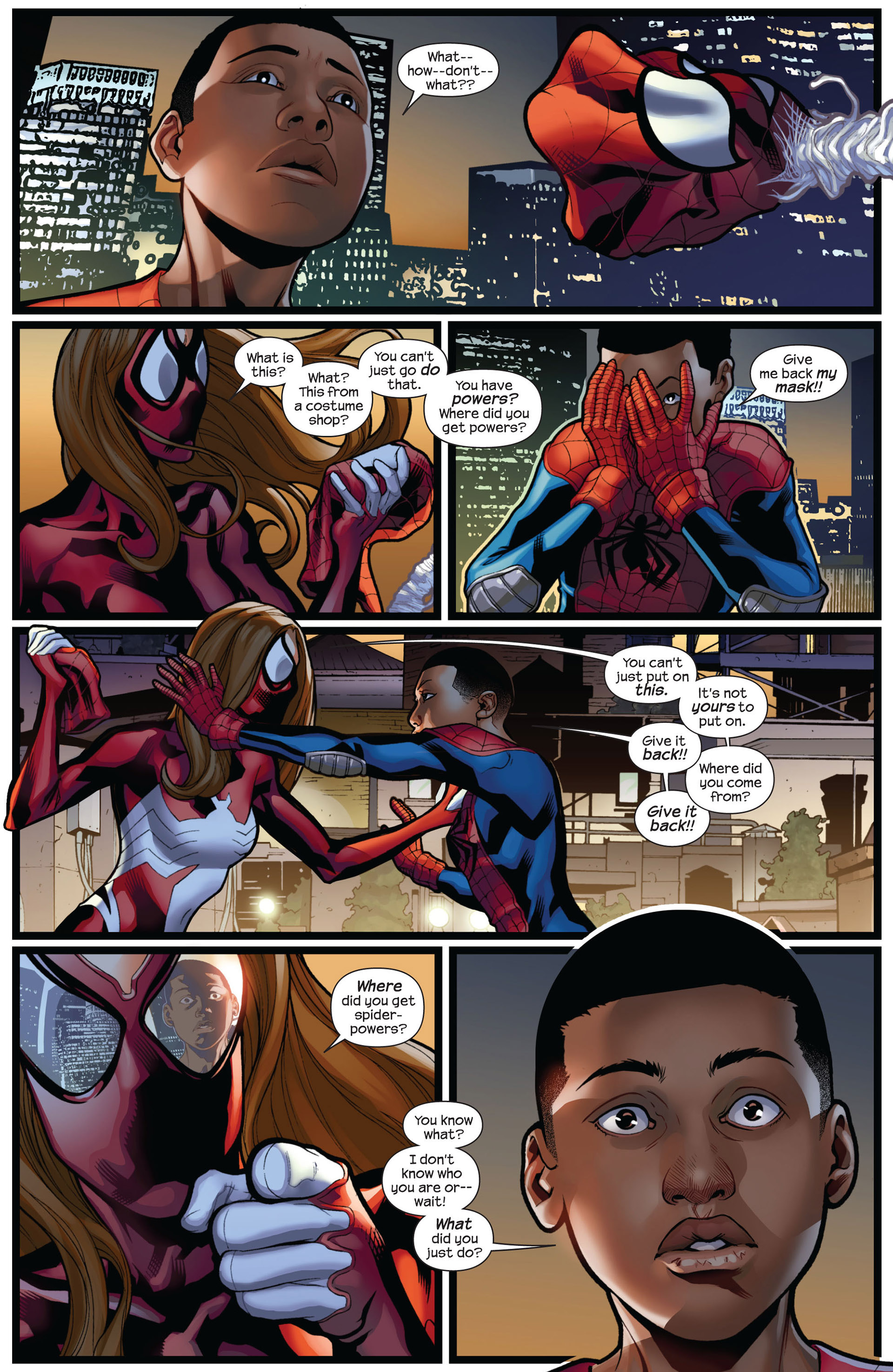 Read online Ultimate Comics Spider-Man (2011) comic -  Issue #5 - 4