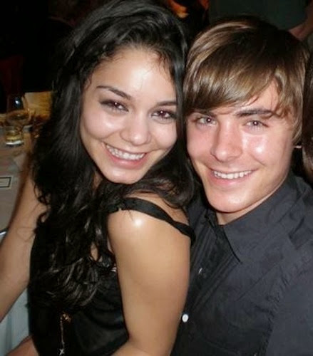 Photos of Zac Efron and Vanessa Hudgens for Fans
