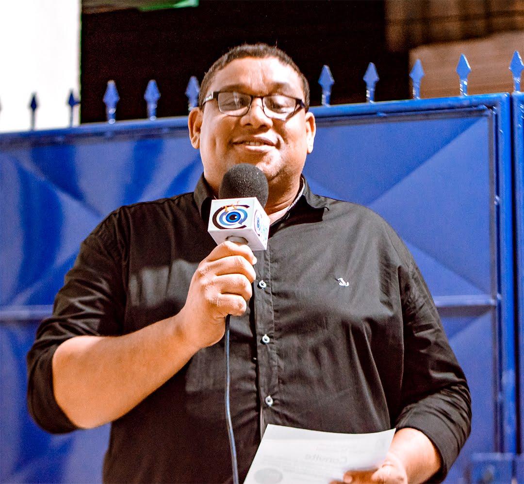 Jailton Bomfim, Repórter e jornalista do Portal de Notícias Olho Vivo - Foto: Agência / Cleiton Souza Fotografias