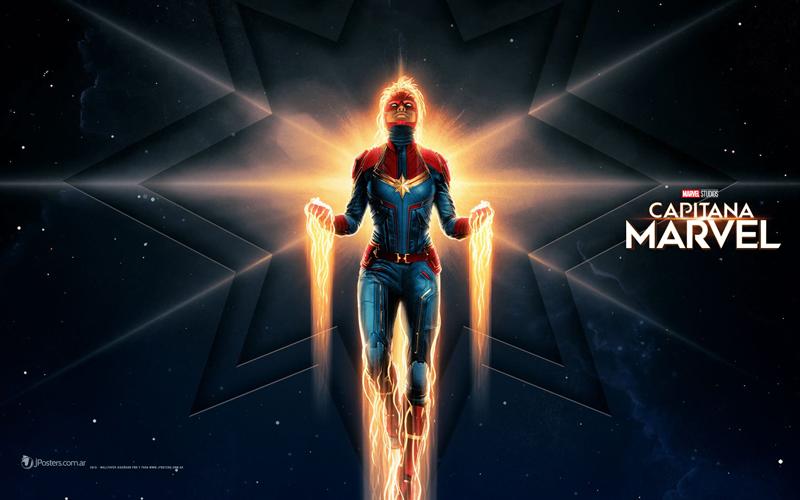 Nuevo Wallpaper De Capitana Marvel Diferentes Resoluciones