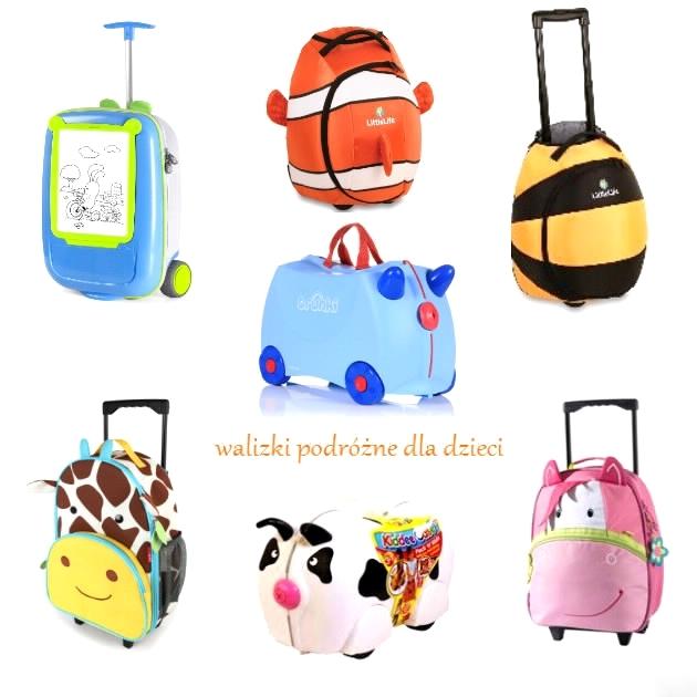 45887f3d61b0f Walizka na kółkach z motywem dziecięcym to niewątpliwie gwarancja radości z  podróżowania. Maluchy uwielbiają 'przyjaciół' mieć ze sobą w podróży. Dzieci  ...