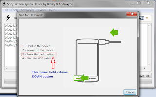 Cara Flashing/Install Ulang Sony Xperia E Single SIM C1504/C1505