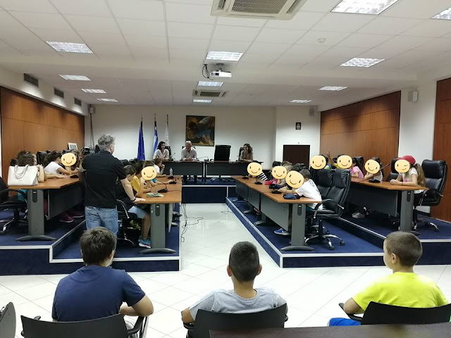 Ηγουμενίτσα: Μαθητές του 3ου Δημοτικού Σχολείου επισκέφθηκαν το Δημαρχείο