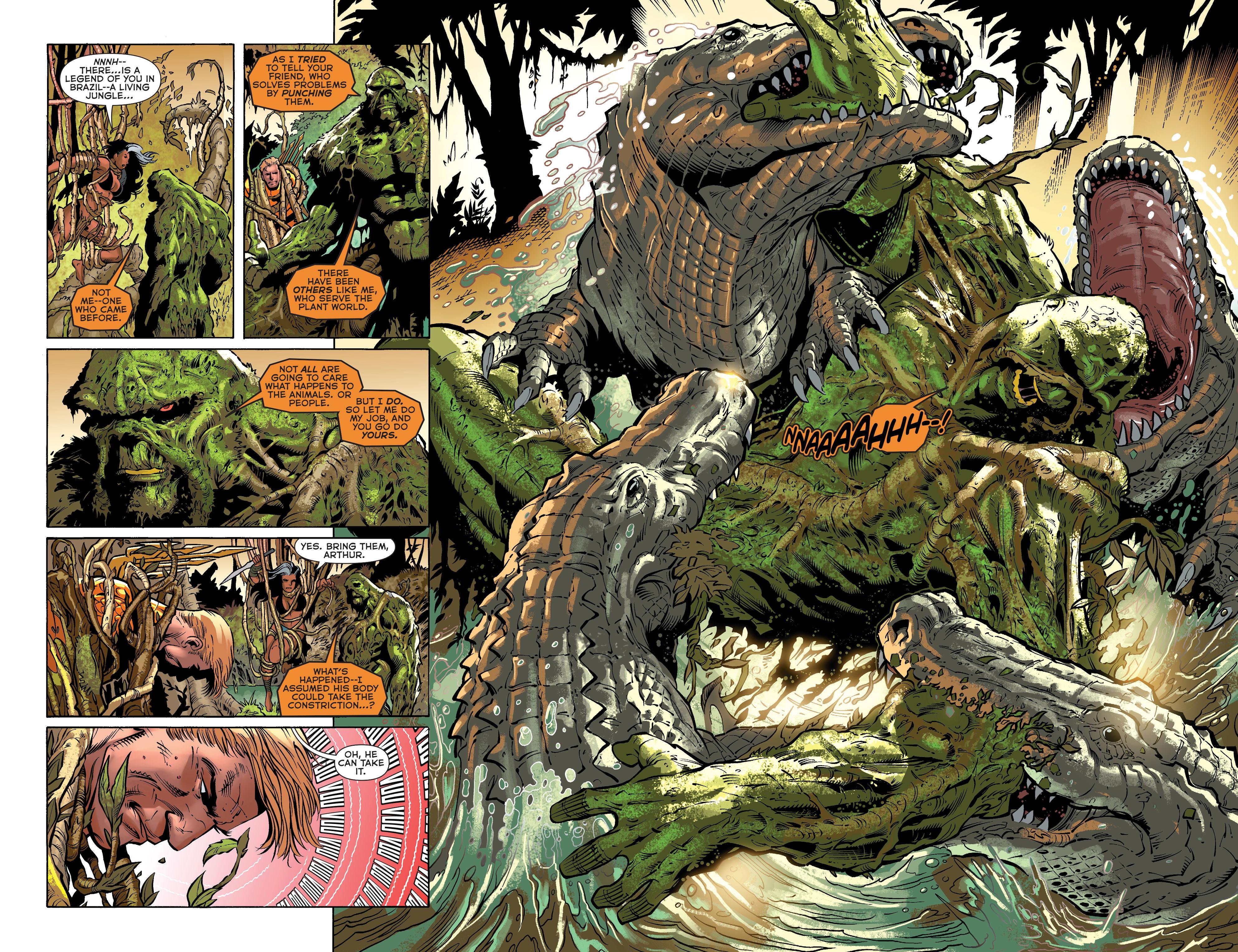 Read online Aquaman (2011) comic -  Issue #31 - 15