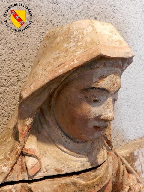 EPINAL (88) - Musée d'art ancien et contemporain : Pièta de Bayon (XVIIe siècle)