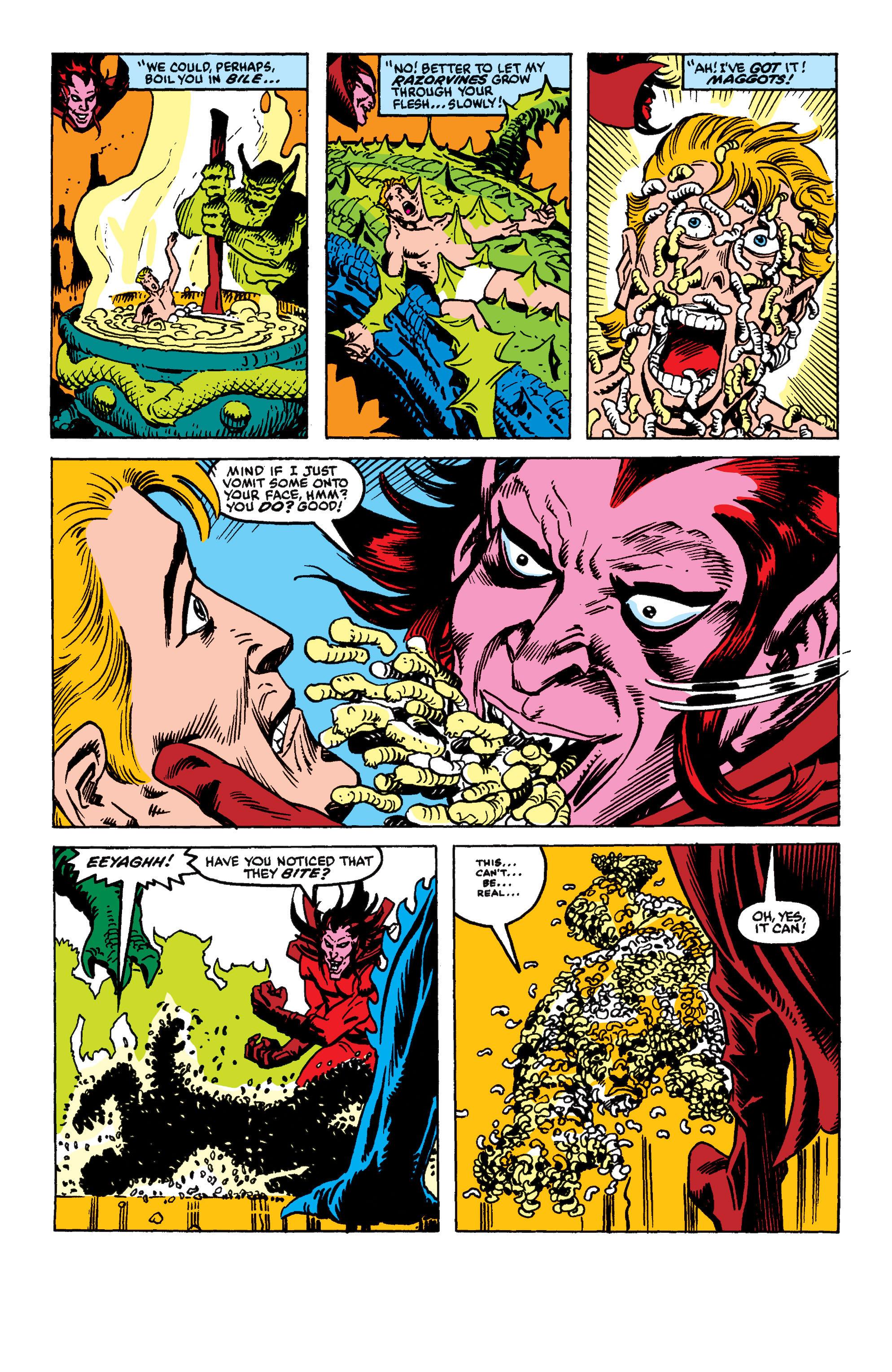 Read online Secret Wars II comic -  Issue #9 - 19