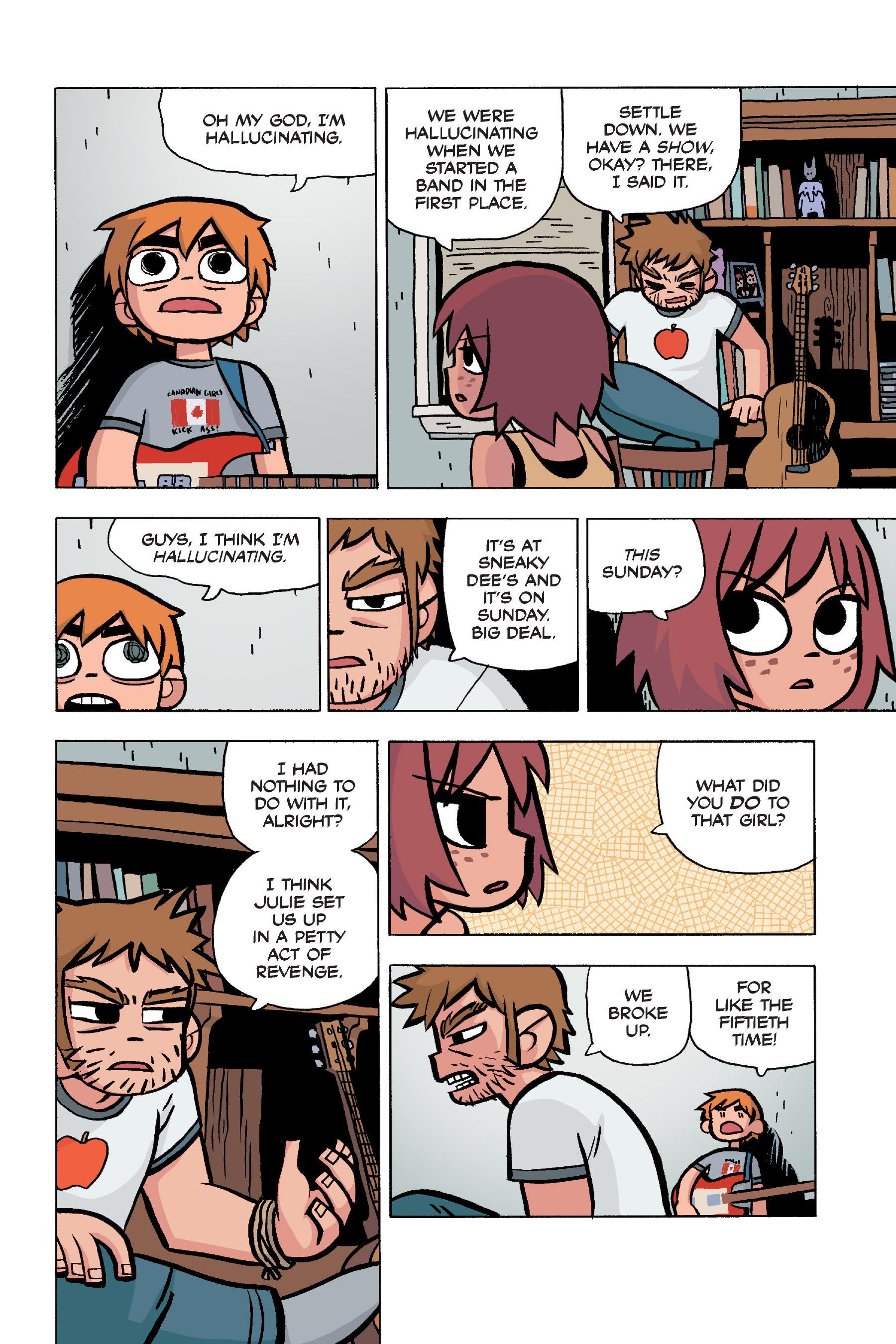 Read online Scott Pilgrim comic -  Issue #5 - 35