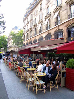Sidewalk Cafe Paris France