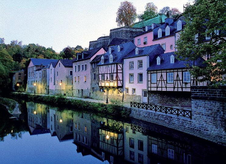 Cidade de  Luxemburgo, a Capital