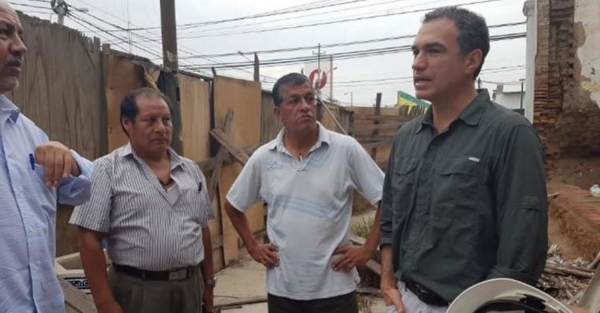 Ministro de Cultura Salvador del Solar verifica situación de museos de Lambayeque tras lluvias intensas