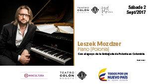 Poster LESZEK MOZDZER Teatro Colon