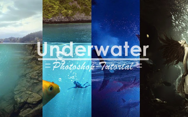11 tutorial underwater di photosohop