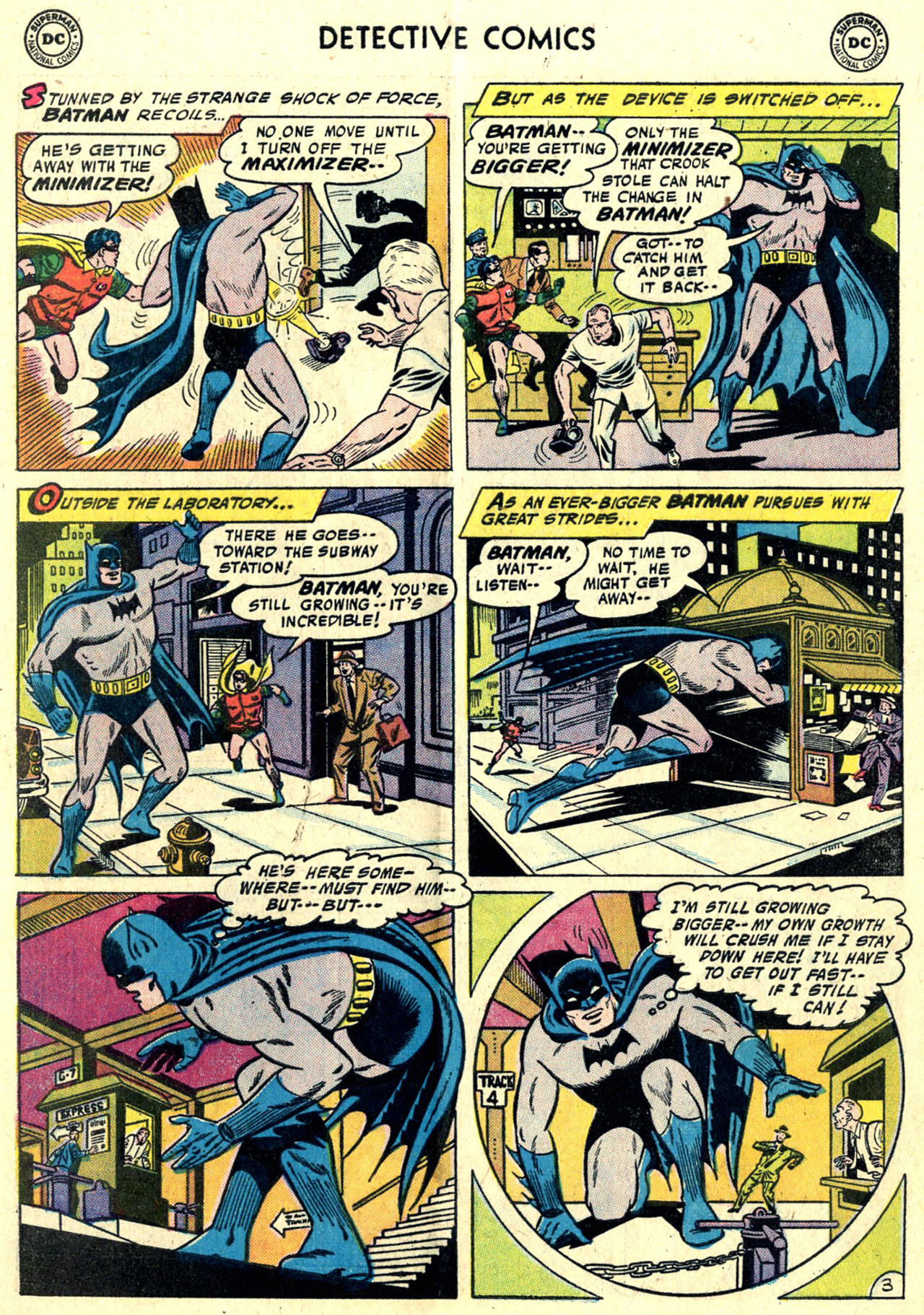 Read online Detective Comics (1937) comic -  Issue #243 - 5