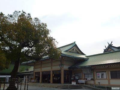 生國魂神社拝殿