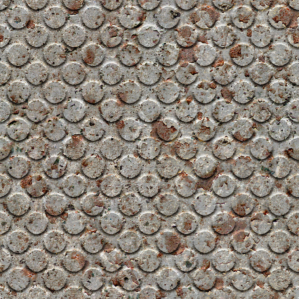Rusted Metal Plates Texture High Resolution Seamle...