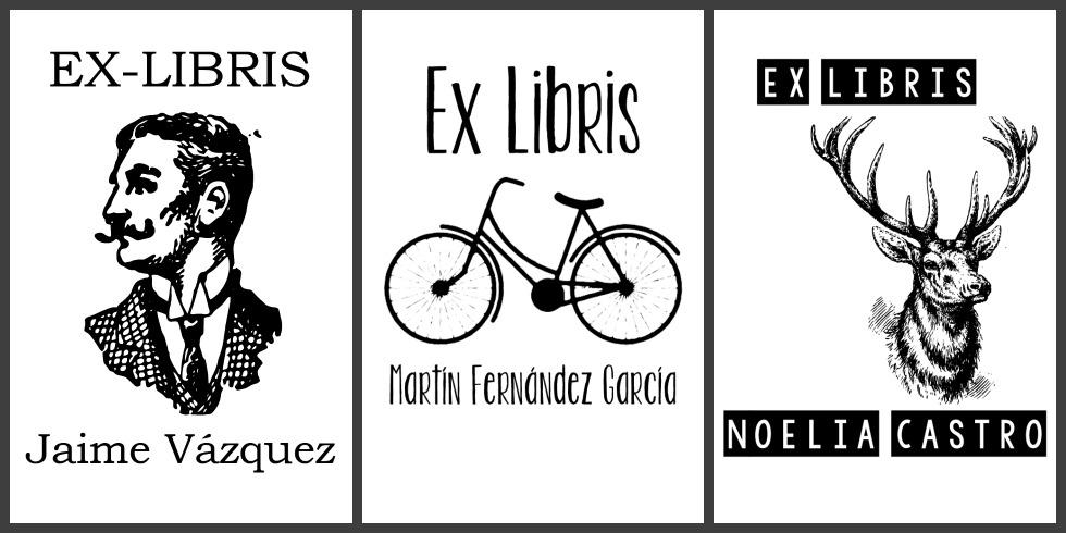 Lady selva ex libris personalizados - Ex libris personalizados ...