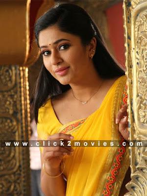 Poonam Bajwa Hot Yellow Saree Stills
