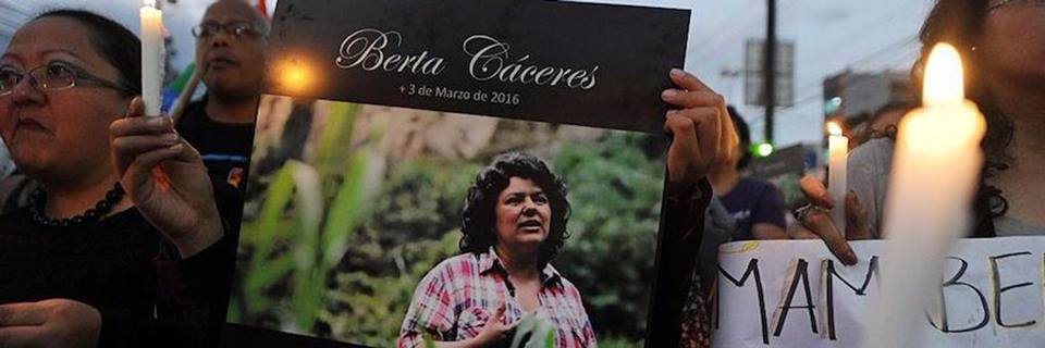 "WEB ""JUSTICE FOR BERTA"""