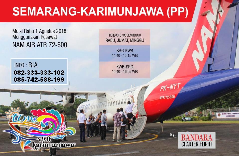 Jadwal Pesawat Ke Karimunjawa Update 2021 Booking Tiket Online