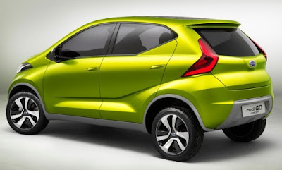 Datsun Redi GO side view hd image