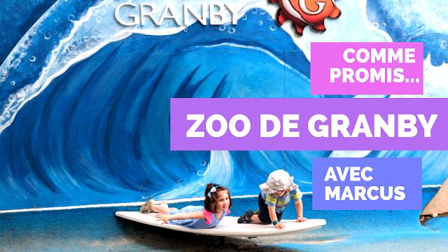 Zoo de Granby prise 2 - Comme promis avec Marcus (et ses parents)