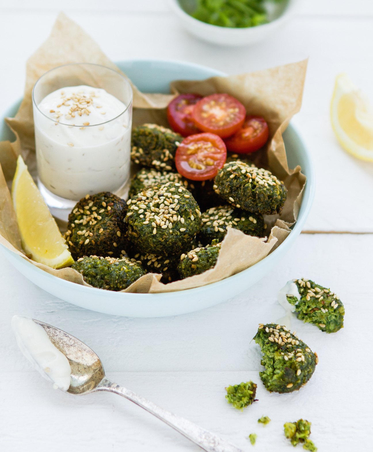 Dalia's Kitchen: Fried Green Falafel and the launch of my
