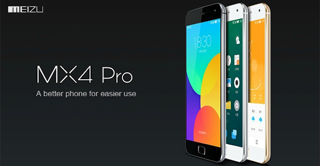 "Meizu MX4 Pro Specifications - LAUNCH Announced 2014, October DISPLAY Type IPS LCD capacitive touchscreen, 16M colors Size 5.5 inches (~73.7% screen-to-body ratio) Resolution 1536 x 2560 pixels (~546 ppi pixel density) Multitouch Yes Protection Corning Gorilla Glass 3 BODY Dimensions 150.1 x 77 x 9 mm (5.91 x 3.03 x 0.35 in) Weight 158 g (5.57 oz) SIM Micro-SIM PLATFORM OS Android OS, v4.4.4 (KitKat) CPU Quad-core 2.0 GHz Cortex-A15 & quad-core 1.5 GHz Cortex-A7 Chipset Exynos 5430 Octa GPU Mali-T628MP6 MEMORY Card slot No Internal 16/32/64 GB, 3 GB RAM CAMERA Primary 20.7 MP, f/2.2, autofocus, dual-LED (dual tone) flash Secondary 5 MP, f/2.0, 1080p@30fps Features 1/2.3"" sensor size, geo-tagging, touch focus, face detection, HDR, panorama Video 2160p@30fps, 1080p@30fps NETWORK Technology GSM / HSPA / LTE 2G bands GSM 850 / 900 / 1800 / 1900 3G bands HSDPA 850 / 900 / 1900 / 2100    TD-SCDMA 1880 / 2010 - China Mobile 4G bands LTE band 1(2100), 3(1800), 7(2600)    LTE band 38(2600), 39(1900), 40(2300), 41(2500) - China Mobile Speed HSPA, LTE Cat4 150/50 Mbps GPRS Yes EDGE Yes COMMS WLAN Wi-Fi 802.11 a/b/g/n/ac, dual-band, Wi-Fi Direct, hotspot NFC Yes GPS Yes, with A-GPS, GLONASS, BDS, QZSS USB microUSB v2.0, USB On-The-Go Radio No Bluetooth v4.0, A2DP, LE FEATURES Sensors Sensors Fingerprint, accelerometer, gyro, proximity, compass Messaging SMS(threaded view), MMS, Email, Push Mail, IM Browser HTML5 Java No SOUND Alert types Vibration; MP3, WAV ringtones Loudspeaker Yes 3.5mm jack Yes BATTERY  Non-removable 3350 mAh battery Stand-by  Talk time  Music play  MISC Colors Gray, Gold, White  SAR US - Flyme 4.0 - Active noise cancellation with dedicated mic - MP3/WAV/eAAC+/FLAC player - MP4/H.264 player - Document editor - Photo/ video editor"