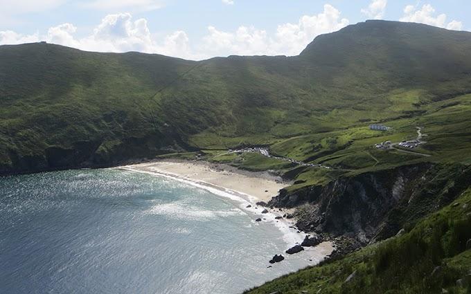 Ghost Village of Achill Island