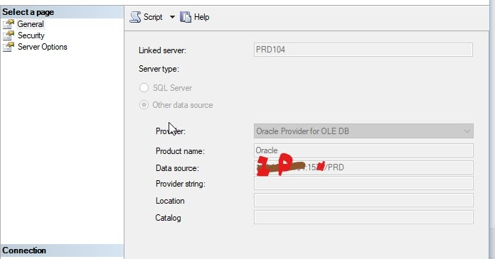 how to create linked server in sql server