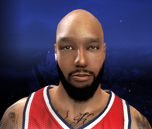 Drew Gooden's Beard | NBA 2K14 Patch
