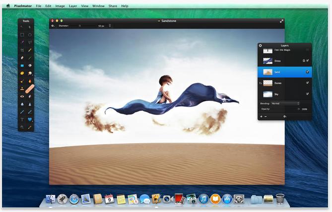 Best photo editing software for MAC - pixelmator