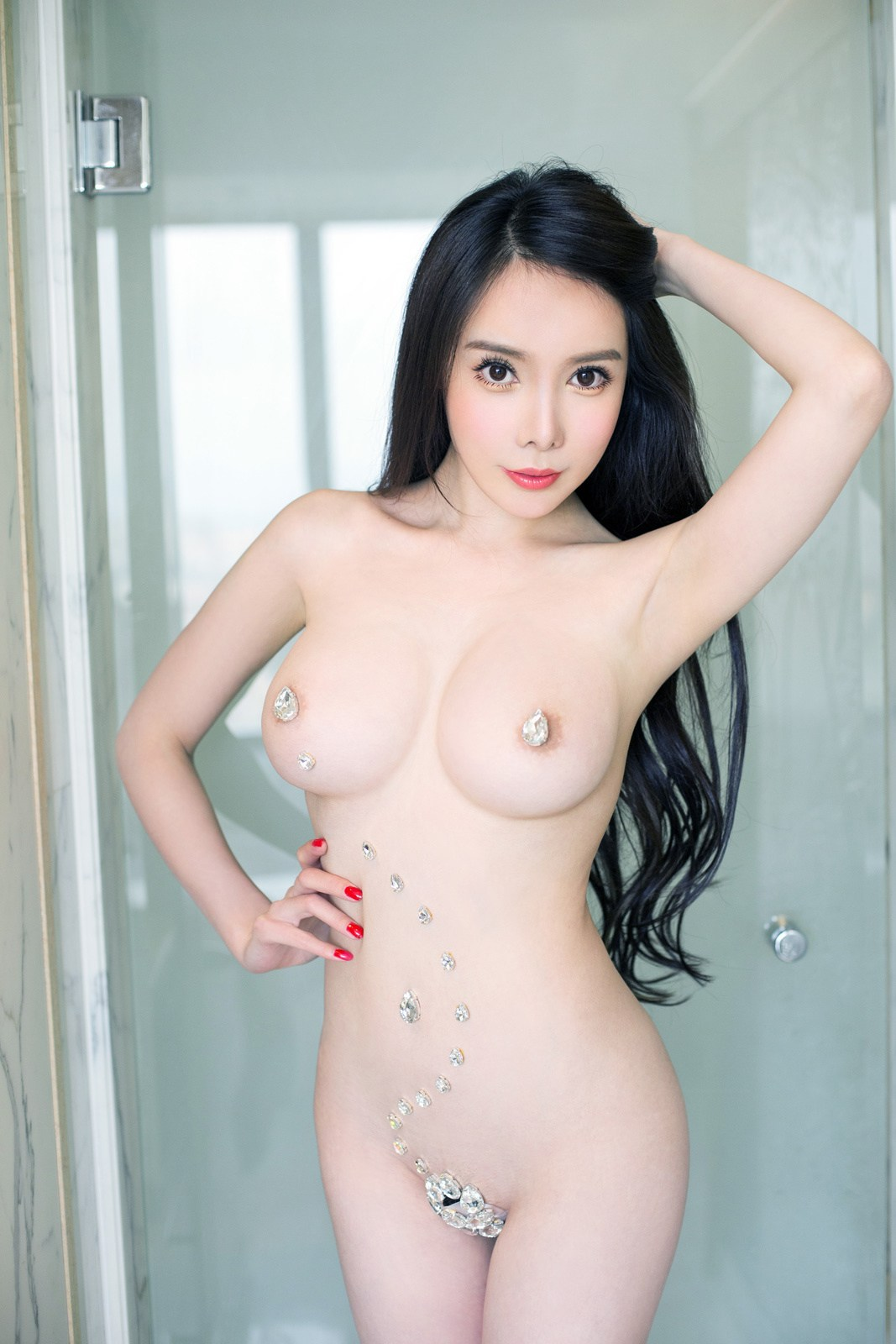 Naked Chinese Girl Zeng Shui  Tempting Maid Superb Big -3899