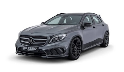 Βελτιωμένη diesel Mercedes GLA με look που θα ζήλευε η AMG!