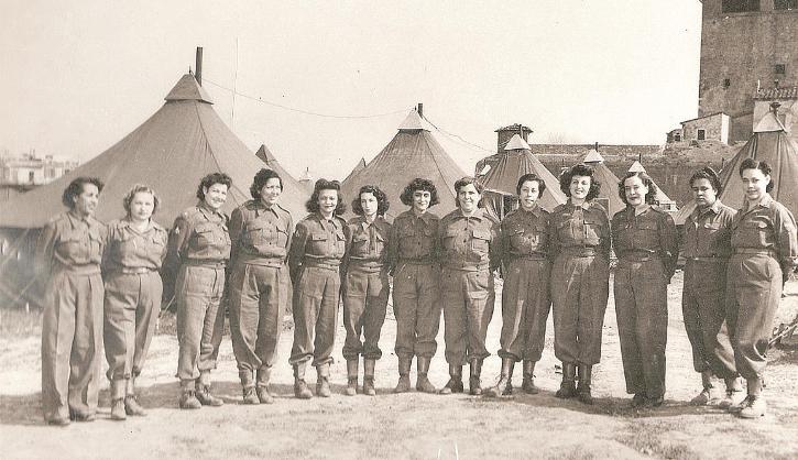 Enfermeiras brasileiras Segunda Guerra