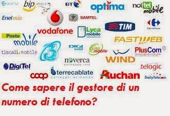 super popular 9bed7 e058f Sapere se un numero è Wind, Vodafone, Tim, Tre, Nòverca o ...